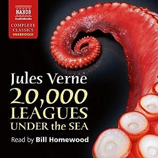 Twenty Thousand Leagues Under the Sea cover art