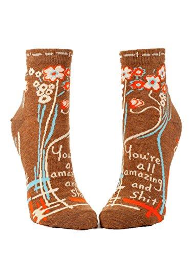 "Preisvergleich Produktbild BlueQ sock women ""You're all amazing"""