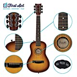"""First Act Discovery 30"""" Beginner Acoustic Guitar, Sunburst"""