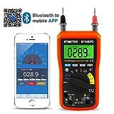 Multimeter, BT-90EPD Auto Range Avometer DMM 4000 Counts With Mobile phone APP Bluetooth, Auto Backlight, AC & DC Voltage, AC & DC Current, Resistance, Cap, Hz, Duty Cycle, Temperature, Battery Test