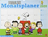 Peanuts Monatsplaner. Wandkalender 2020. Monatskalendarium. Spiralbindung. Format 44 x 34 cm