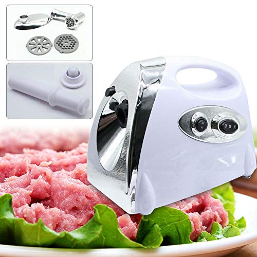 2800W Meat Grinder, Electric Meat Mincer Sausage Stuffer, Stainless Steel Heavy Duty Food Grinder with 3 Blades, Sausage Making Kit