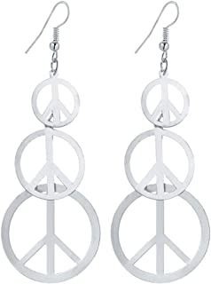 Best silver peace sign jewelry Reviews