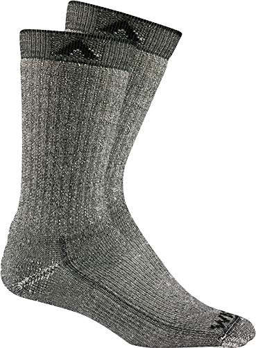 Wigwam Merino Comfort Hiker 2-Pack S2322 Sock, Black II - XL