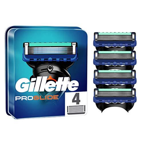 Gillette ProGlide Rasierklingen, 4 Rasierklingen pro Packung, mit 5 Anti-Irritations-Klingen für eine gründliche, langanhaltende Rasur, aktuelle Version