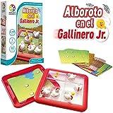 Alboroto en el gallinero – Smart Games, Juego Educativo para niños, Juegos de Mesa, puzle para niños, smartgames, Puzzles Infantiles, Juego de Viaje, Piezas deslizantes