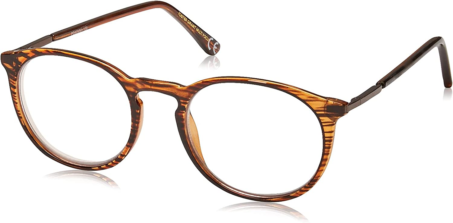 Foster Grant sold out New item McKay Multifocus Glasses Round Reading