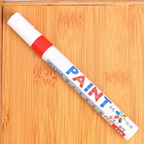 chora Autolack-Markierungsstifte DIY Craft Projects Schnelltrocknende Autoreifen-Farbmarkierungsstifte Für Autoreifen-Lackmarkierungen Tinte Wasser- und lichtbeständig.