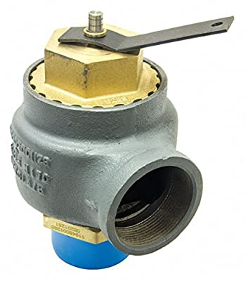 KUNKLE Valve Cast Iron Safety Relief Valve, MNPT Inlet Type, FNPT Outlet Type by CAI - KUNKLE VALVE