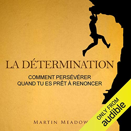 La détermination: Comment persévérer quand tu es prêt à renoncer [Determination: How to persevere when you are ready to give up] Titelbild