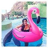 WWWL Juguete de Playa Anillo de natación Inflable de Flamenco Gigante para Piscina para Adultos Anillo de natación para bebés Float natwer círculo Piscina Juguetes Playa Fiesta de Fiesta