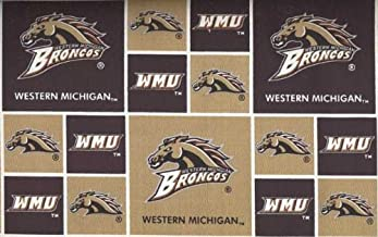 Western Michigan University By Sykel - 100% Cotton, 44