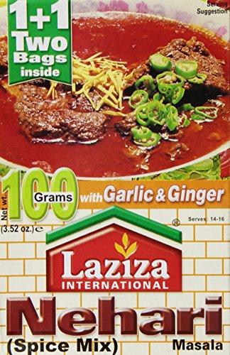 Laziza Nihari Masala, 100-Gram Boxes (Pack of 6)