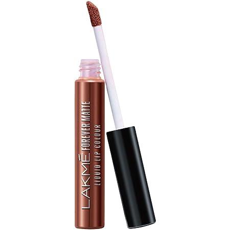 Lakmé Forever Matte Liquid Lip Colour, Nude Twist, 5.6 ml