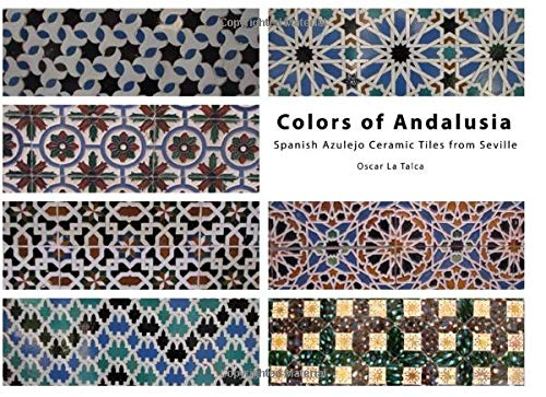 Colors of Andalusia. Spanish Azulejo Ceramic Tiles from Seville