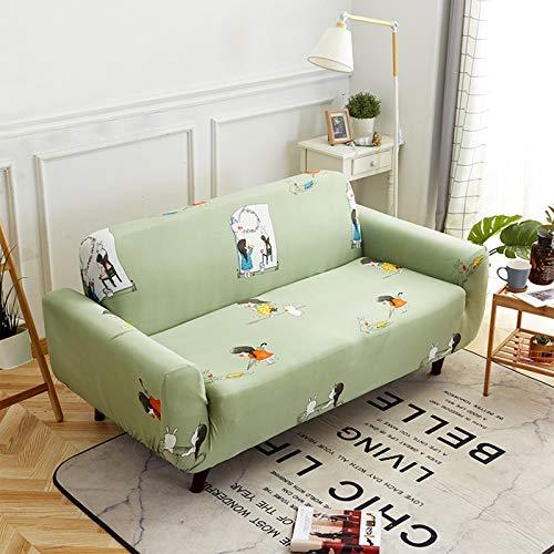 NNLX Sofa Sofabezüge, 1 2 3 4-Sitzer Couch, Jacquard Spandex M?belschutz Hunde Haustierfreundliche Couch Schonbezug,B,145~185cm