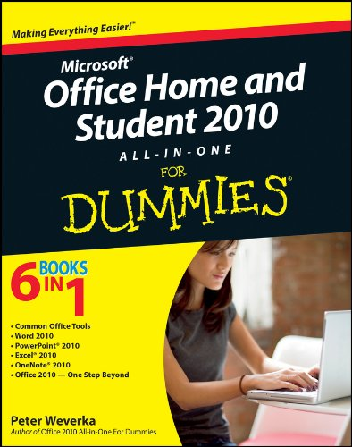 Office Home and Student 2010 All-in-One For Dummies (English Edition)