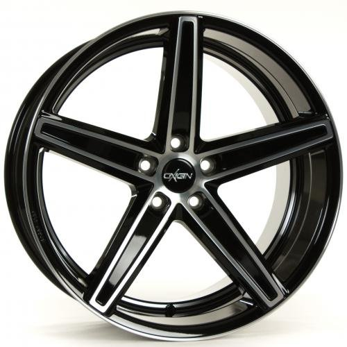 OXIGIN 18 Concave black full polish 8,5x19 ET35 5.00x112.00 Hub Bore 66.60 mm - Alu felgen