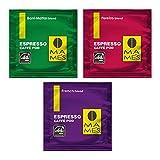 エスプレッソマシン用 44mmカフェポッド エスプレッソカフェポッド 3種類 アソートパック 30個 マメーズ焙煎工房のスペシャルティコーヒー100%です。