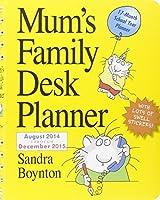 Mum's Family Desk Planner 2015