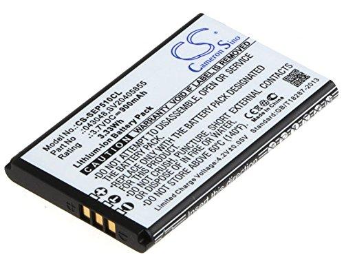 TECHTEK batería sustituye 043048, para C0487, para SV20405855 Compatible con [SWISSVOICE] Epure, Epure 6.0, Epure DECT 6.0, Epure Dou, Epure fulleco Duo, Epure Tam DECT, Epure V2, Epure Weiss
