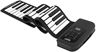 Portable 61 Key Roll Up instrument piano Piano Flexible Silicon Electronic Training Tool Professional Musical Instrument O...