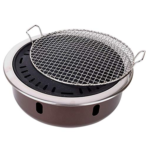 Guoguocy BBQ Barbeque Barbecue Grill,Charcoal Grill,High-end Barbecue Grill,Split Type,Indoor and Outdoor,4-8 People