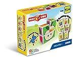 Geomag- Magicube Juguete de construcción, Multicolor, 4 Piezas (131)...