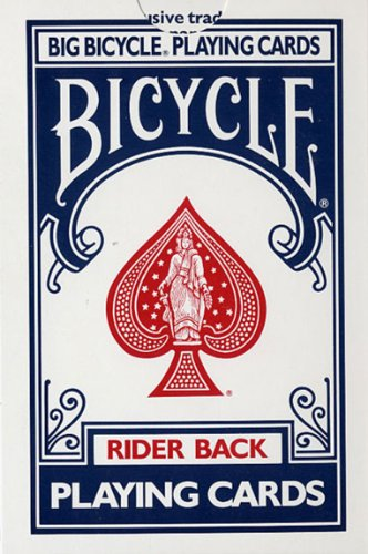 Bicycle Jumbo Playing Cards from Lo…