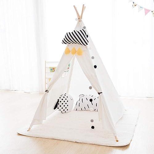 diseñador en linea SUWIND SUWIND SUWIND Teepee Carpa para Niños, Indian Wigwam Play Tent Teepee con Ventana para Interiores y Exteriores, portátiles y Plegables Niños para Niños Playhouse para Niños y niñas  venta mundialmente famosa en línea