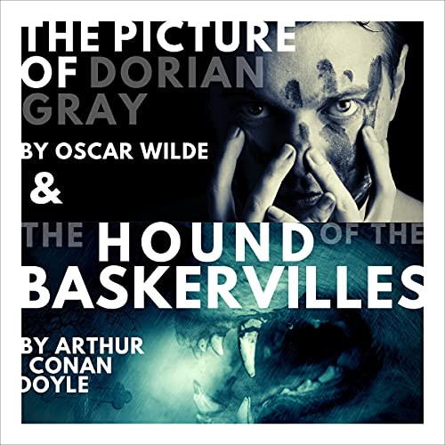 The Picture of Dorian Gray and The Hound of the Baskervilles cover art