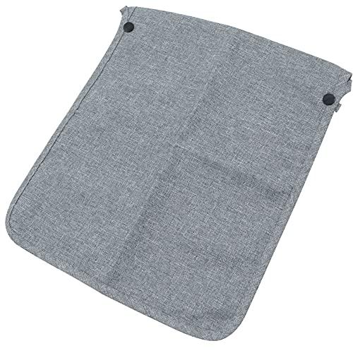 Bolso Organizador Carrito Bebe - bolsa Almacenamiento Pañales Accesorios Almacenar Suministros Bebés Multifuncional Capacidad Compacto y Moderno gris 1 pieza