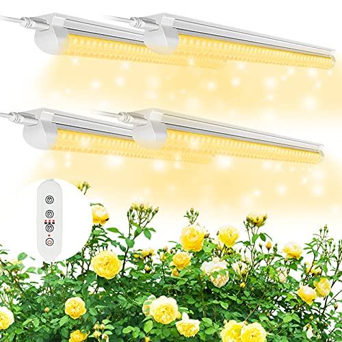 (Pack de 4)Lámpara de Planta SHOPLED, 9/12/15H...