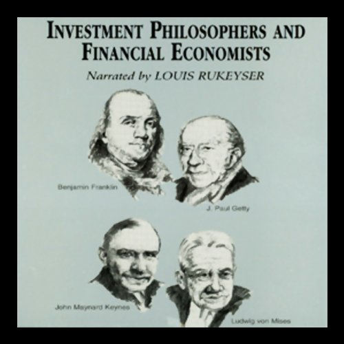 Investment Philosophers and Financial Economists audiobook cover art