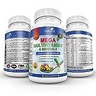 MEGA MULTIVITAMIN Capsules for Women Men - Vitamins and Minerals Liquid Capsules Supplement + Coq10 #1