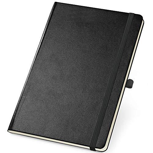 Caderneta de Anotações 10x14cm 80 Folhas Sem Pauta Preto