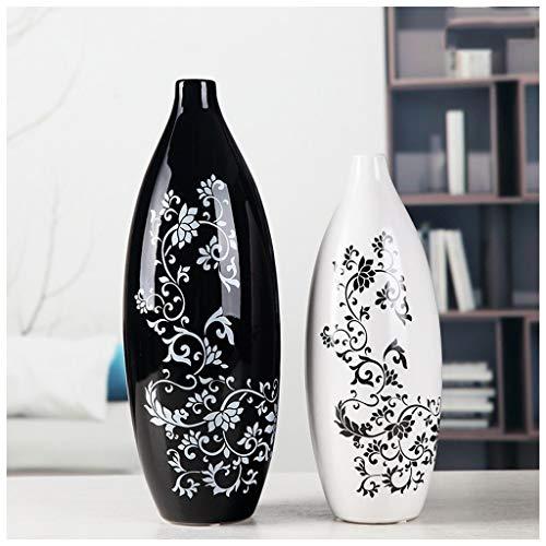 Arredamento for la Casa Moderne keramische hangkast van wijn, handwerk, ornamenten, creatief ornament, minimalistisch ornament, voor bloempotten (twee vazen) buiten