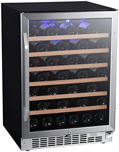 EdgeStar CWR532SZ 24 Inch Wide 53 Bottle Built-In Wine Cooler