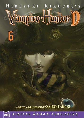 Hideyuki Kikuchi's Vampire Hunter D Vol. 6 (manga) (English Edition)