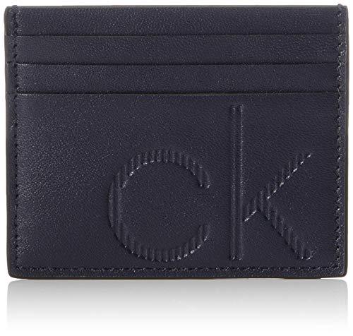 Calvin Klein Ck Up Cardholder - Borse a spalla Uomo, Blu (Navy), 1x1x1 cm (W x H L)