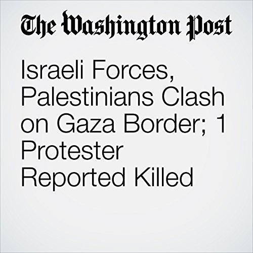 Israeli Forces, Palestinians Clash on Gaza Border; 1 Protester Reported Killed copertina