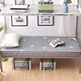 JINDSMART Colchón de futón japonés, futón de Suelo japonés Tradicional de tamaño Doble, colchón de futón, colchón de Camping portátil