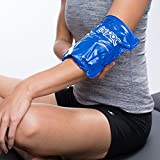 Chattanooga-00-1504 ColPac Reusable Gel Ice Pack Cold Therapy for Wrist, Ankle, Knee, Arm, Elbow for Aches, Swelling, Bruises, Sprains, Inflammation (5.5' x 7.5')Pack of 1 - Blue