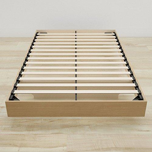 Nordik Full Size Platform Bed, Natural Maple