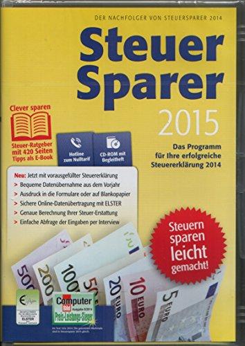 Lidl Steuersparer 2015 für die Steuererklärung 2014