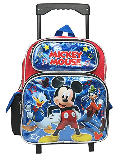 Mickey Mouse 12 inches Toddler(Small) Rolling Backpack
