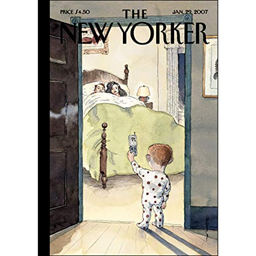 The New Yorker (Jan. 29, 2007) audiobook cover art