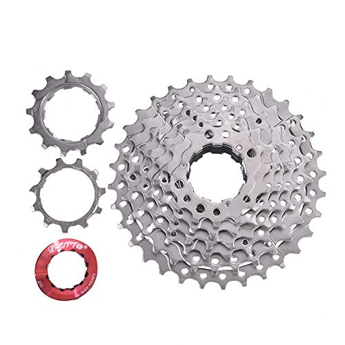 Ueohitsct ZTTO Bike Freewheel Cassette Sprocket 8 Speed 11-32T Bicycle Replacement Accessory