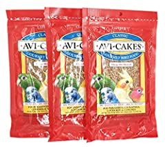 Chewy bird cake squares of fresh seed and nourishing enriched pellets surrounded by sweet, scrumptious molasses Provide 100% of the protein, carbohydrates, fat and essential vitamins and minerals your bird needs Naturally flavored and preserved bird ...