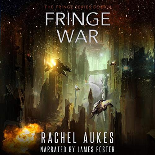 Fringe War audiobook cover art